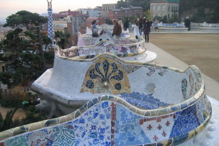 Barcelone Gaudi garden