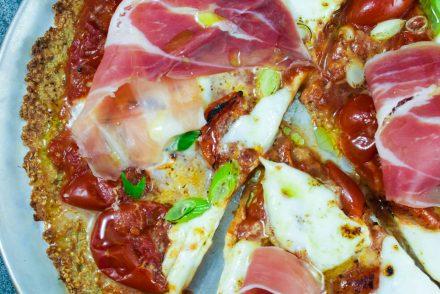 Pizza Quinoa margherita