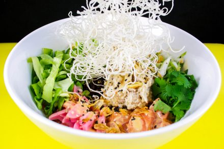 Poké saumon