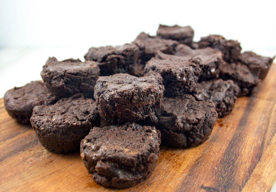mini brownies santé