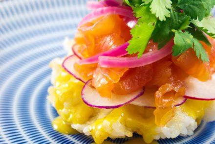 gaufre sushi