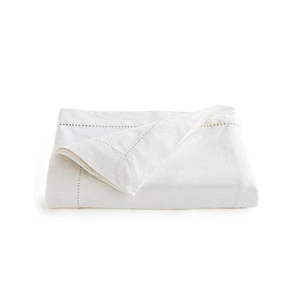 Nappe en lin blanche (60 x120) 47.99$