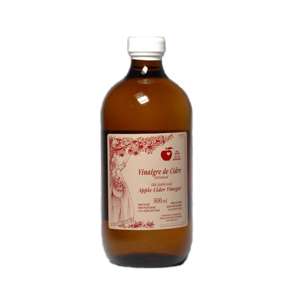 Vinaigre de cidre artisanal 7.99$ Québec