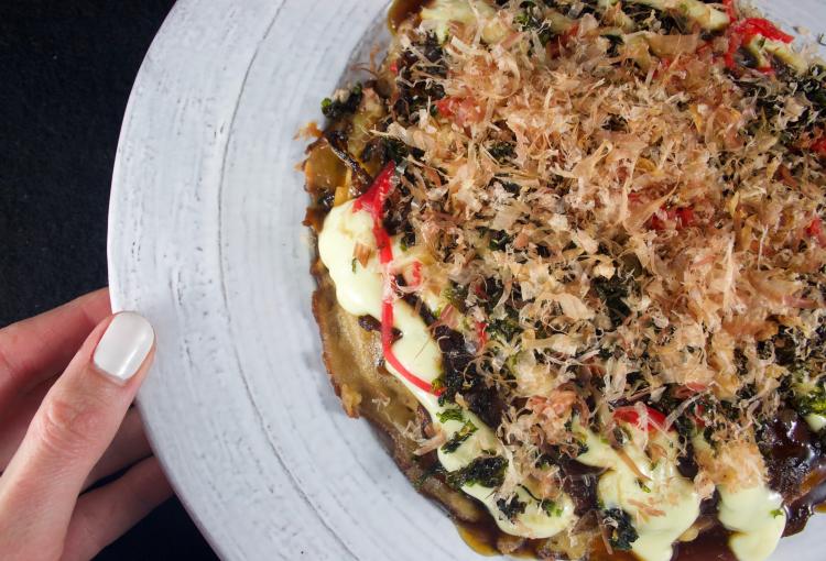 Okonomiyaki maison