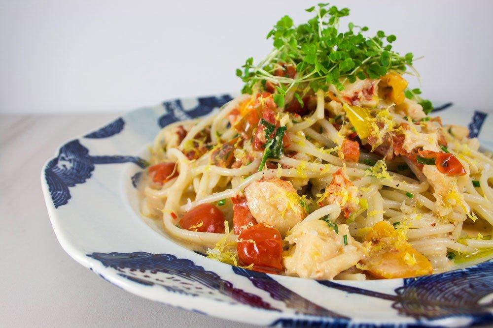 Spaghetti au homard