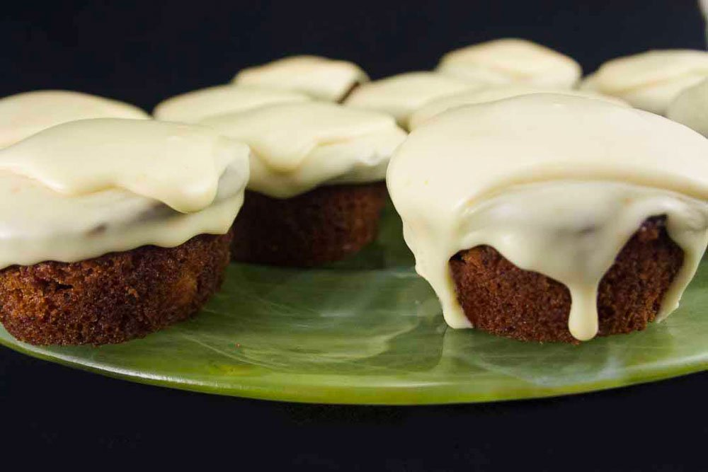 Cupcakes aux betteraves et glaçage au fromage à la crème