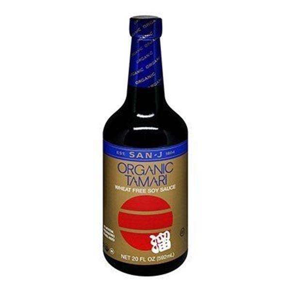 Sauce tamari organique (sans gluten)