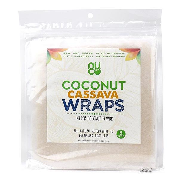 Wrap cassava à la noix de coco (Paléo)