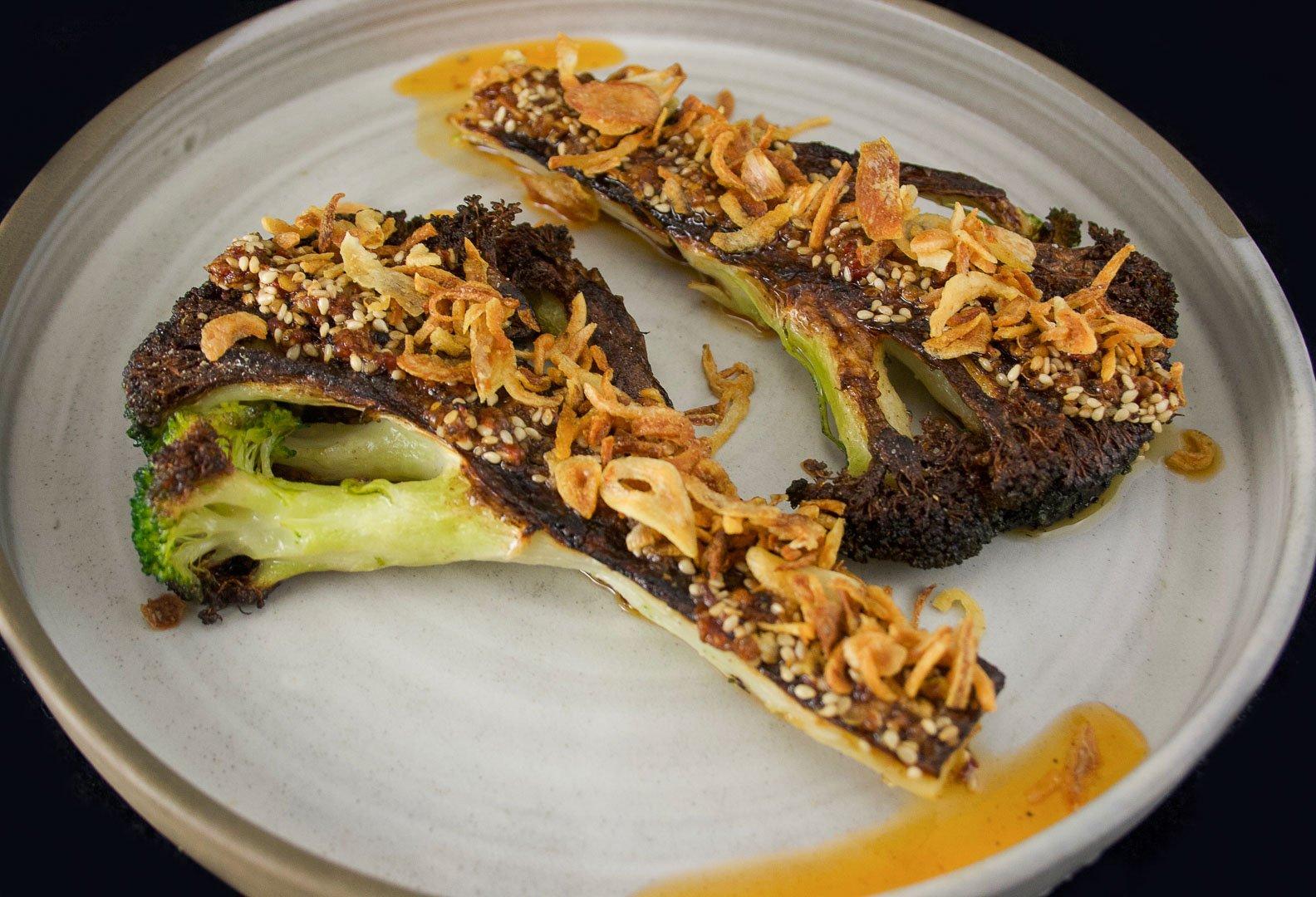 Steak de broco «Sichuan Style»