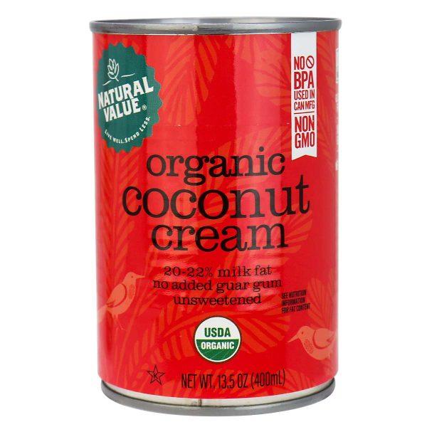 Crème de noix de coco pure