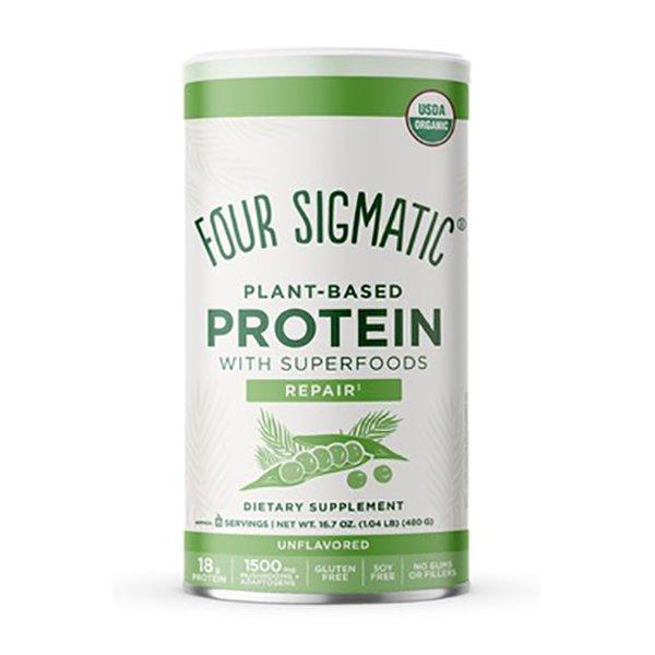 Poudre de protéine végétalienne avec adaptogènes